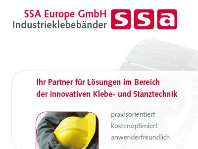 Unternehmensbroschüre SSA Europe deutsch